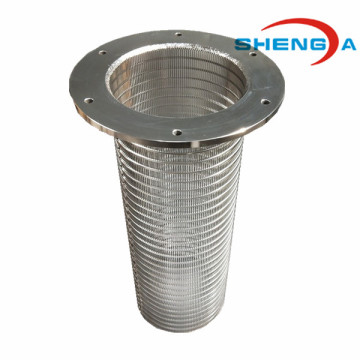 Johnson Filter Wedge Wire Filter Element