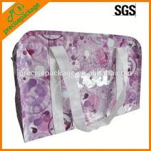 Laminierte Vliestasche mit Reißverschluss