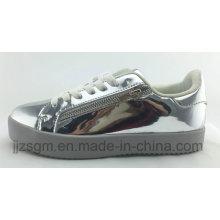 Zapatos ocasionales del patín de la manera para las mujeres / PU del espejo