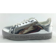 Fashion Skate Casual Shoes for Women / Mirror PU