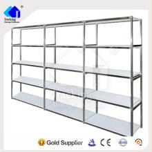 Estante de almacenamiento popular en todo el mundo estante de mercancías de larga duración laminado en metal de alta calidad