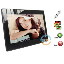 New design 10 inch digital photo frame wall clock