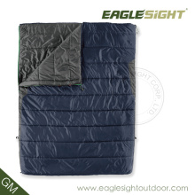 Thick Double Person Goose Down Sleeping Bag Mummy