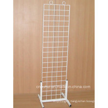 Floor Standing Wire Rack Display (PHY3007)