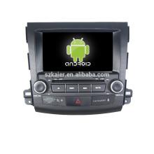 автомобиль DVD навигации аудио голосу Мицубиси Аутлендер,по Bluetooth,AirPlay и зеркал-литье,видеорегистратор,игры,двойной зоны,управления рулевого колеса
