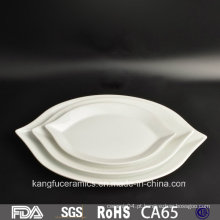 Fancy Irregular Shaped Restaurante Dinnerset