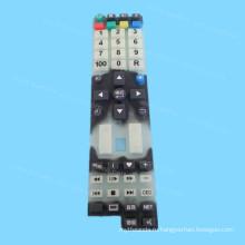 Изготовленная На Заказ Шелковая Ширма Печатая Силикон Резиновая Клавиатура