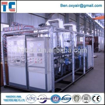 Usine d'oxygène cryogénique exportée vers l'Indonésie