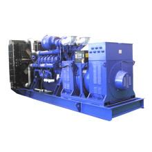 50Hz Reino Unido motor de alto voltaje generador diesel 800kw -1800kw
