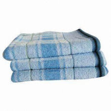 Export Bath Towel, Made of Cotton, Customized Logos are Welcome