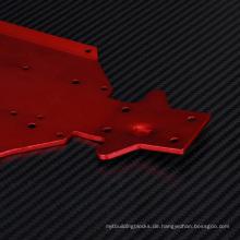 Kundenspezifische Audi Chassishalterung aus Aluminium für RC-Spielzeug