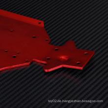 Kundenspezifische Audi-Aluminium-Chassishalterung für RC-Spielzeug
