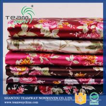 Furniture Fabric Polyester Satin Fabric