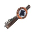Personalized Blackwolf Securite Mens Tie Clip