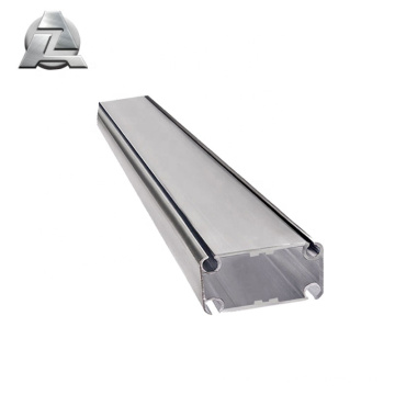 ZJD-KE761 4.5mm thickness anodized aluminum tent frame parts profile