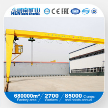 High Quality Single Girder Semi Gantry Crane (BMH)