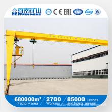 Bmh Series Single Girder Semi-Gantry Crane