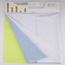 Tissu élastique en coton et élasthanne en nylon