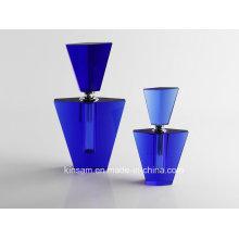 Fashion Violet Crystal Glass Perfume Bottle Craft