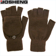 Fingerless Knitted Gloves, Lady Warm Half Gloves
