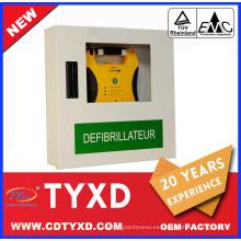 Fabricación de chapa de fuente de fábrica / caja de hoja para AED