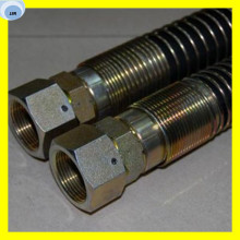 Hose with Spring Hose and Fitting Hydraulic Hose Assembly