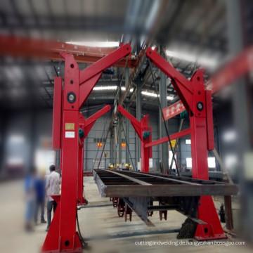 Kostengünstige automatische Kettenumkippmaschine für Auflieger