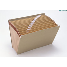 Kraft Expanding Wallet A4 File Folder