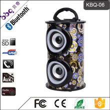 BBQ KBQ-06M 10W 1200mAh CER Zertifikat Portable Wireless Surround Sound MP3-Musik-Lautsprecher