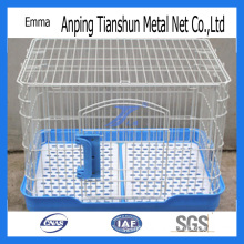PVC Coated Pet Cage with Plastic Chassis (TS-E103)