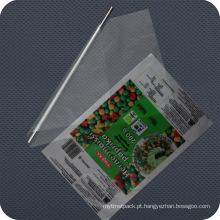 Filme de embalagem de plástico impresso personalizado
