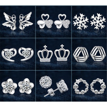 2015 fashion jewelry stud earring cheap earring wholesale