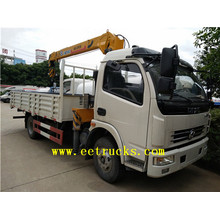 Dongfeng 15 TON Boom Camiones Grúas