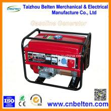 Générateur d'essence à la maison silencieux à piles 5kw