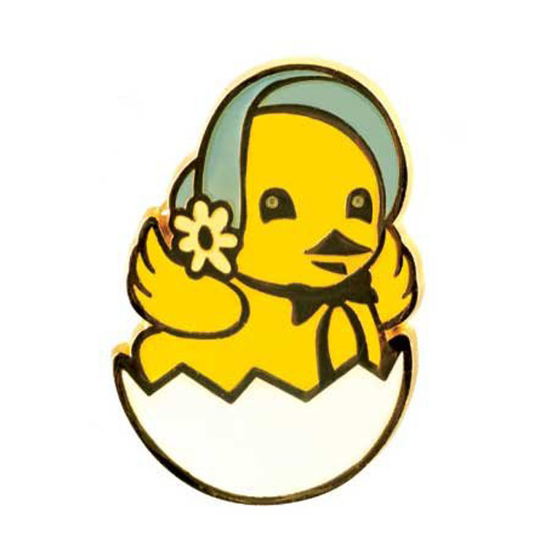 Enamel Easter Chick Pin