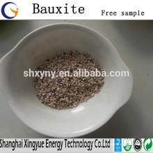 Refractário 60% -90% Al2O3 calcinado bauxita baixo preço da bauxita