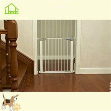 Custom sized pet safety door and safety fence