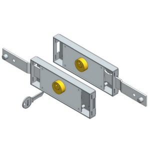 Latch Shifted Roller Shutter Door Locks