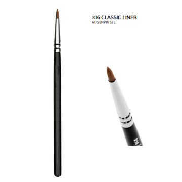 Classic Eyeliner Brush with Nylon Bristles (E316)
