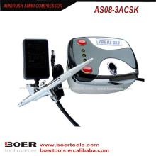 Airbrush mini compresseur kit ongles peinture mini compresseur