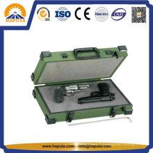 Boîtier en aluminium mousse intérieur petit nettoyage Gun pistolet (HG-5001)