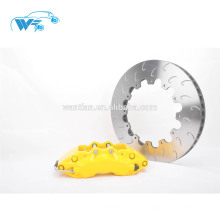 Melhorar o kit de freio do efeito de resfriamento WT9040 Six Piston Red Compasso de calibre do freio apto para to-yota / Porsche 993