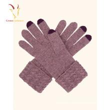 Gros gants chauds d'hiver pour l'écran tactile