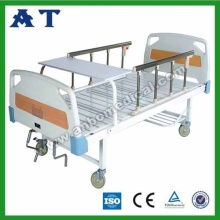 Medical ABS triple-folding bed