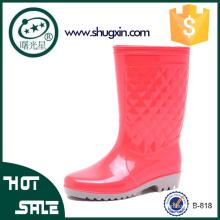 Mesdames jardin pluie chaussures femmes plat chaussures de pluie