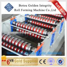 Beschichtete Aluminiumspule gewellte gebrauchte Metalldachplatte Walzenformmaschine
