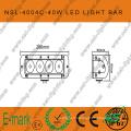Barre d'éclairage de travail à une rangée CREE 40 W, tout-terrain super brillant (NSL-4004C)
