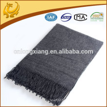 Factory China Comfortable Thick Style Sollid Color Wool Scarf Custom