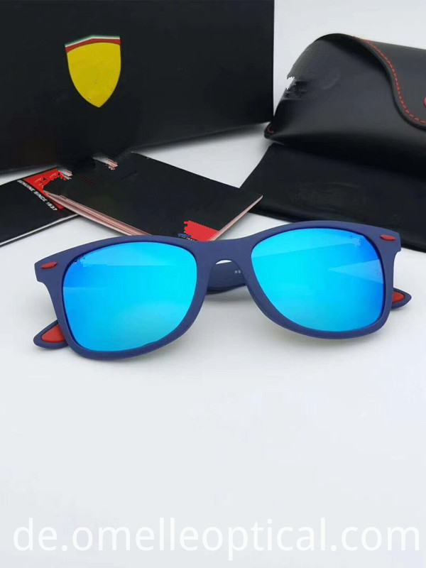 Unisex Blue Sunglasses
