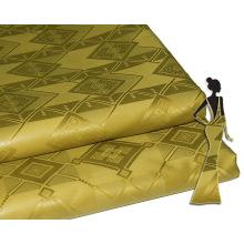 Descuento Knit Custom Jacquard Brocade Fabric Alibaba Stock Precio Bazin Riche Nigeria Style